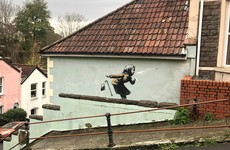 Banksy confirms mural of sneezing pensioner on side of Bristol house is his work