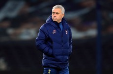 Jose Mourinho backs Harry Winks and Dele Alli disappearing down the tunnel during Spurs game