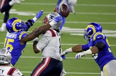 New England Patriots outmatched in 24-3 defeat against Los Angeles Rams
