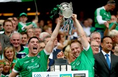 'I asked him to lift the cup with me. I don't know why but I'm delighted I did' - Limerick's defensive star