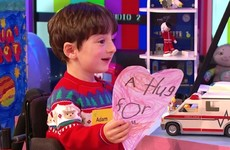 All post across Ireland will be stamped with Toy Show Adam's virtual hug