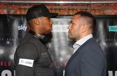 Security called to separate Anthony Joshua and Kubrat Pulev at weigh-in