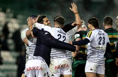 Late Santiago Cordero try sees Northampton slip to cup defeat against Bordeaux