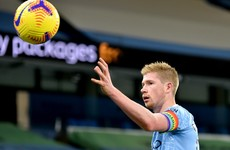Kevin De Bruyne warns Manchester City not to underestimate United