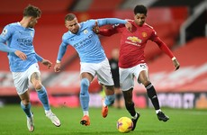 As it happened: Man United v Man City, Premier League
