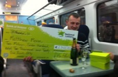 Champagne on the train to Wexford: How to celebrate a €2.7m Lotto win