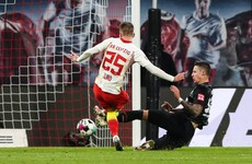 Days after beating Man United, Leipzig top Bundesliga