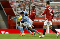 Manchester United hold City in bore draw