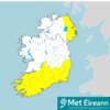 Wind weather warning issued for 11 counties from tomorrow