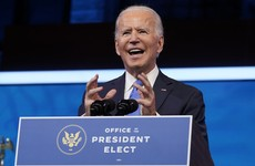Biden praises US 'flame of democracy' and criticises Trump after Electoral College win