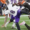 Action Jackson rescues Ravens as Browns lose thriller