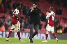 Arteta ready to 'take the bullets' to prevent Arsenal from slipping into relegation battle
