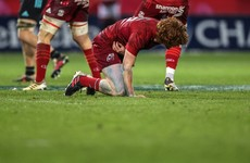 Healy has shoulder scan and is ruled out of Munster's Clermont trip after late hits by 'Quins