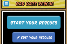 New app will rescue you from bad dates