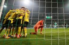 Late Reus winner hands Dortmund winning start under caretaker boss