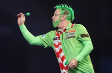 Wright brings festive cheer and opens title defence on a high, Meath teenager bows out at Ally Pally