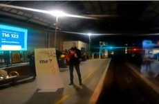 A man proposed to his Dart driver girlfriend as she pulled into Pearse Station last night