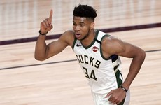 Greek forward Giannis Antetokounmpo signs richest deal in NBA history