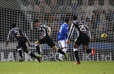 Former League of Ireland pair's goals end Rangers' 26-match unbeaten run