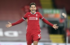 Last-gasp Firmino header gives Liverpool big win over Spurs