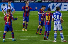 Barcelona reignite title bid with defeat of league leaders at Camp Nou