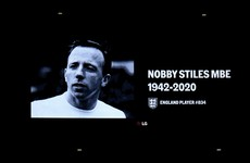 Money can't buy you a new brain, says Nobby Stiles's widow