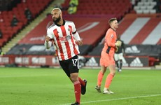 McGoldrick scores twice for Sheffield Utd but Rashford hits brace as Man United continue perfect away record