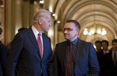 Sofa Watch: Ryan busks with Bono, Biden suppresses his Irish-ness