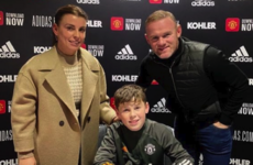 Wayne Rooney's eldest son Kai signs for Manchester United
