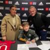 Wayne Rooney's eldest son Kai signs for Manchester United