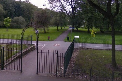Whitworth Park in Manchester.