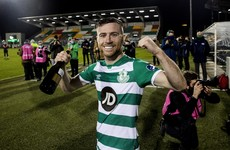 Jack Byrne scoops top soccer writers' award