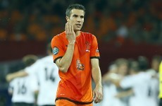 Familiar territory: Wenger concedes Van Persie could leave