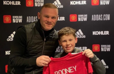 'It was his decision and not mine' - Rooney a 'proud dad' after son Kai signs for Man Utd