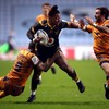 Wasps see off 14-man Montpellier to top Champions Cup pool