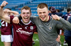 Galway U20 star celebrates All-Ireland football win one day after Leinster hurling semi-final victory