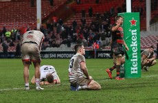 Ulster blow lead and bow out after 9-try thriller in Gloucester