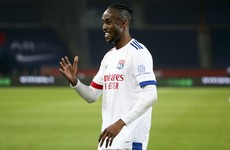 Kadewere helps 'magnificent' Lyon go top of Ligue 1