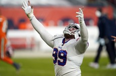 Bills clinch division title with big win over Broncos
