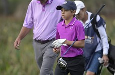 Tiger Woods' son wows at PNC Championship
