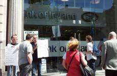 Occupy Dame Street forces closure of Bank of Ireland branch