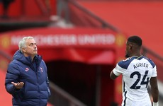 Jose Mourinho won't blame Serge Aurier for 'mistake'
