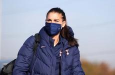 US Star Alex Morgan ends spell with Tottenham