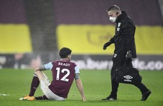 Sean Dyche fears over Robbie Brady injury