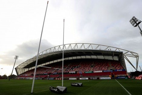 Thomond Park will play host to the meeting of Munster and Leinster on St Stephen's Day.