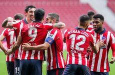 Atletico move two points clear of chasing pack with win over Real Sociedad