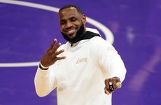 LeBron and the Lakers pick up NBA rings before opening night defeat