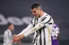 Ronaldo and Bonucci apologise to Juventus fans for 'worst' performance of the season