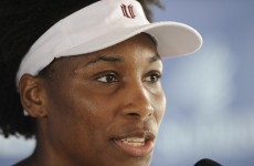 Follow through: Venus plans to compete in Rio 2016