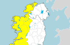 Wind warning issued for 10 counties in the west from St Stephen's Day